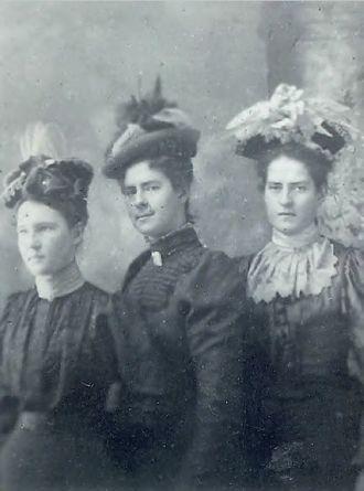 Anna, Mary, & Elizabeth Mahon 1898