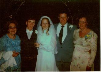 Chaffin Wedding Day