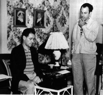 Moss Hart and George Kaufman