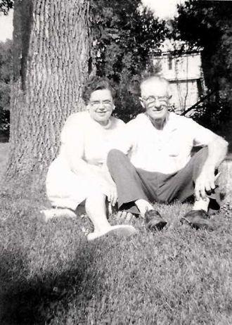Ethel and Oscar Edwin Mossengren