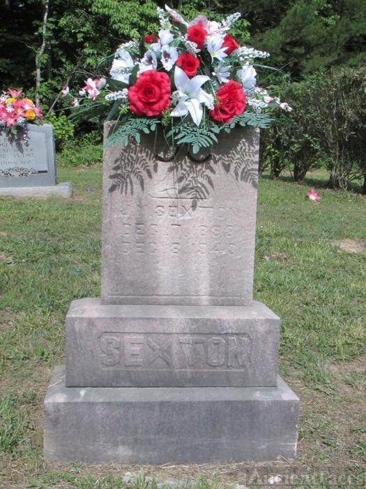 James Mount Sexton gravesite