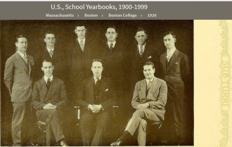Joseph Henry Beecher--U.S., School Yearbooks, 1900-1999(1926) Sub Turri -2