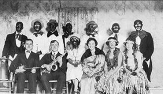Charlie Lambert & Travelling Minstral Troupe, 1926