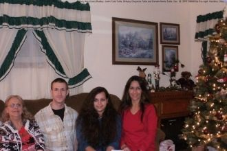 Terry, Justin, Pam and Brittany 2015