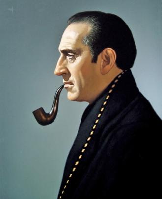 A photo of Basil Rathbone