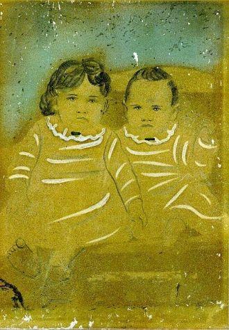 Avis Annette & Verda S. Sanders, 1886