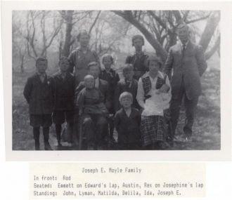 Joseph E. Moyle Family