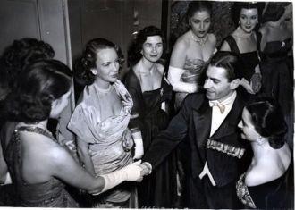 Shah of Iran with Princess Ghodsee
