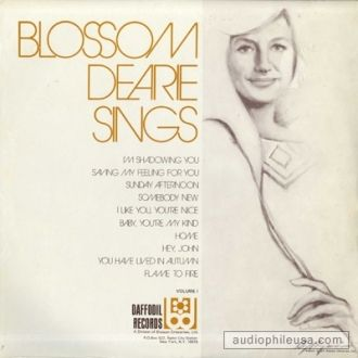 Blossom M. Dearie Sings