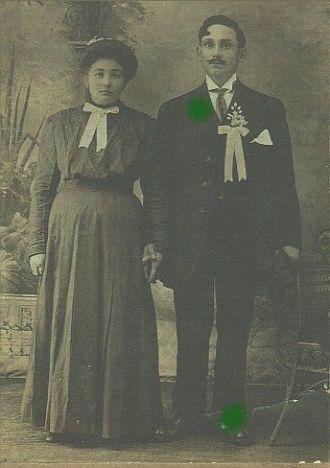 Galgoczi  Wedding Picture, 1911