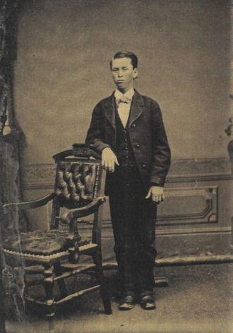 Unknown tintype 3  Oregon? Washington?