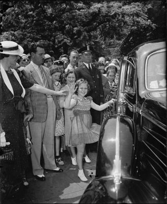 Shirley Temple   White House