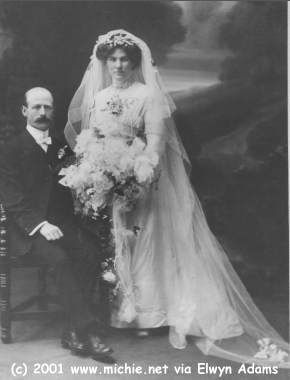 John  Michie & Frances  Redick, 1911