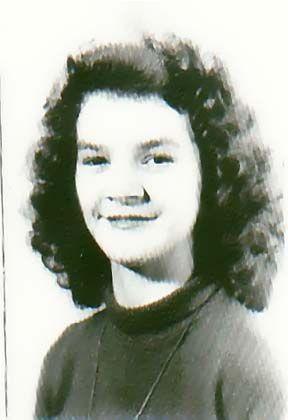 Carolyn as a young girl