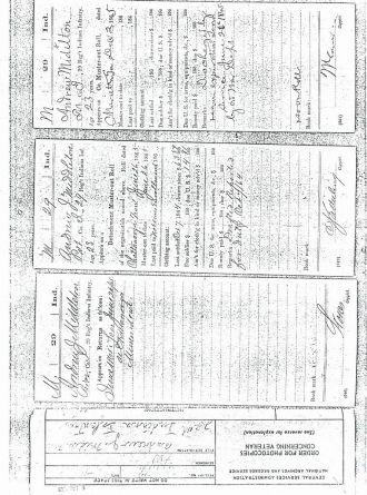 Andrew Jackson Middleton Civil War Records 6
