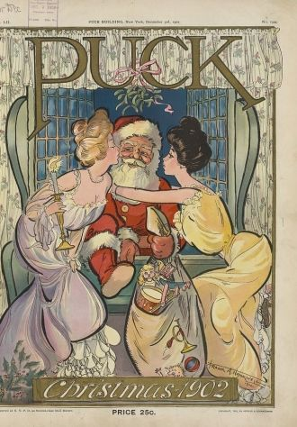 Santa Claus, 1902, Puck Magazine