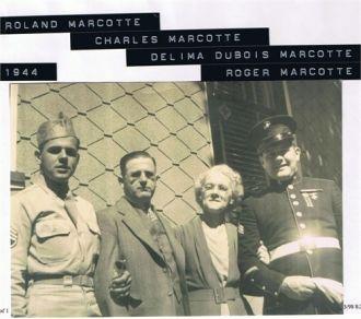 Charles, Delima, Roger, & Roland Marcotte, RI