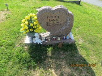 Shelia L Lamb gravesite