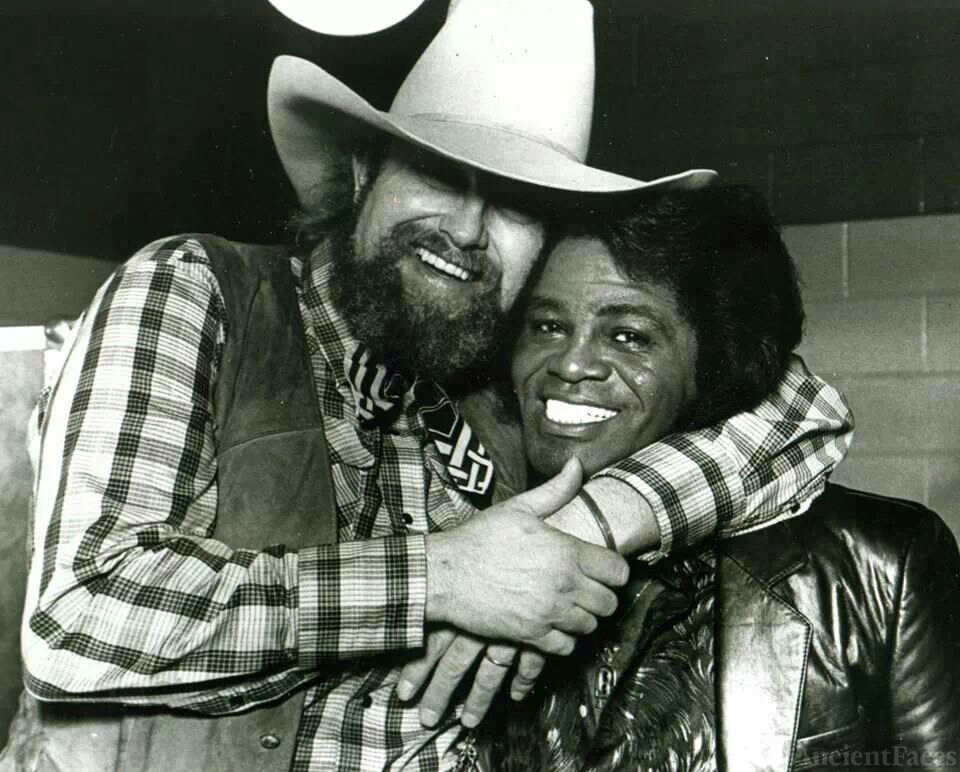 Charlie Daniels and James Brown