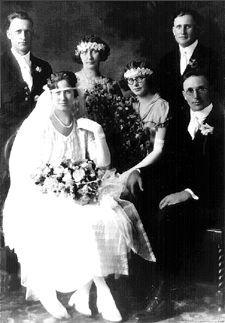 Margaret (Reichert) & James Larkin, 1924 MN