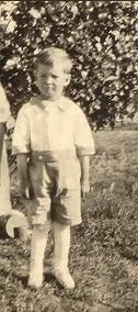 William Glen Cornwell, age 3