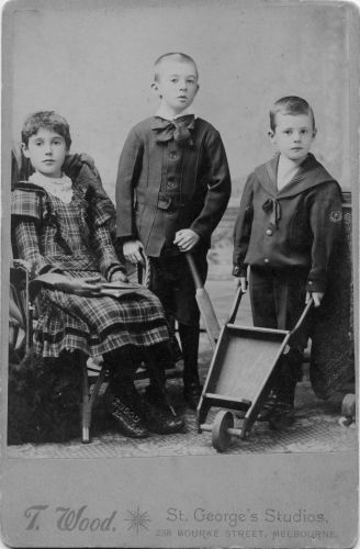 Florence, William, and Robert Thornton