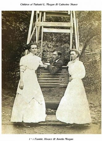 Frankie, Horace, & Amelia Morgan, TN 1910