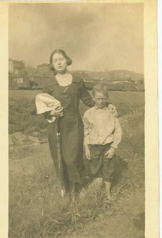 Eleanor aka Nellie Fromhart & Probably Her Son
