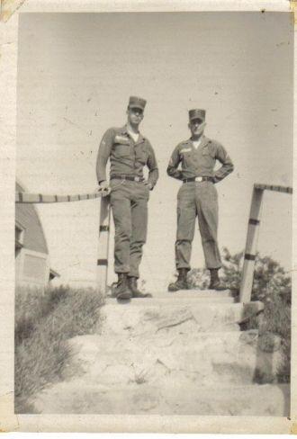 Pat Dent and George Corbin