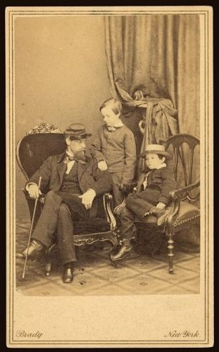 Willie and Tad Lincoln, sons of President LIncoln