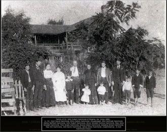 Hammond Family, GA 1899