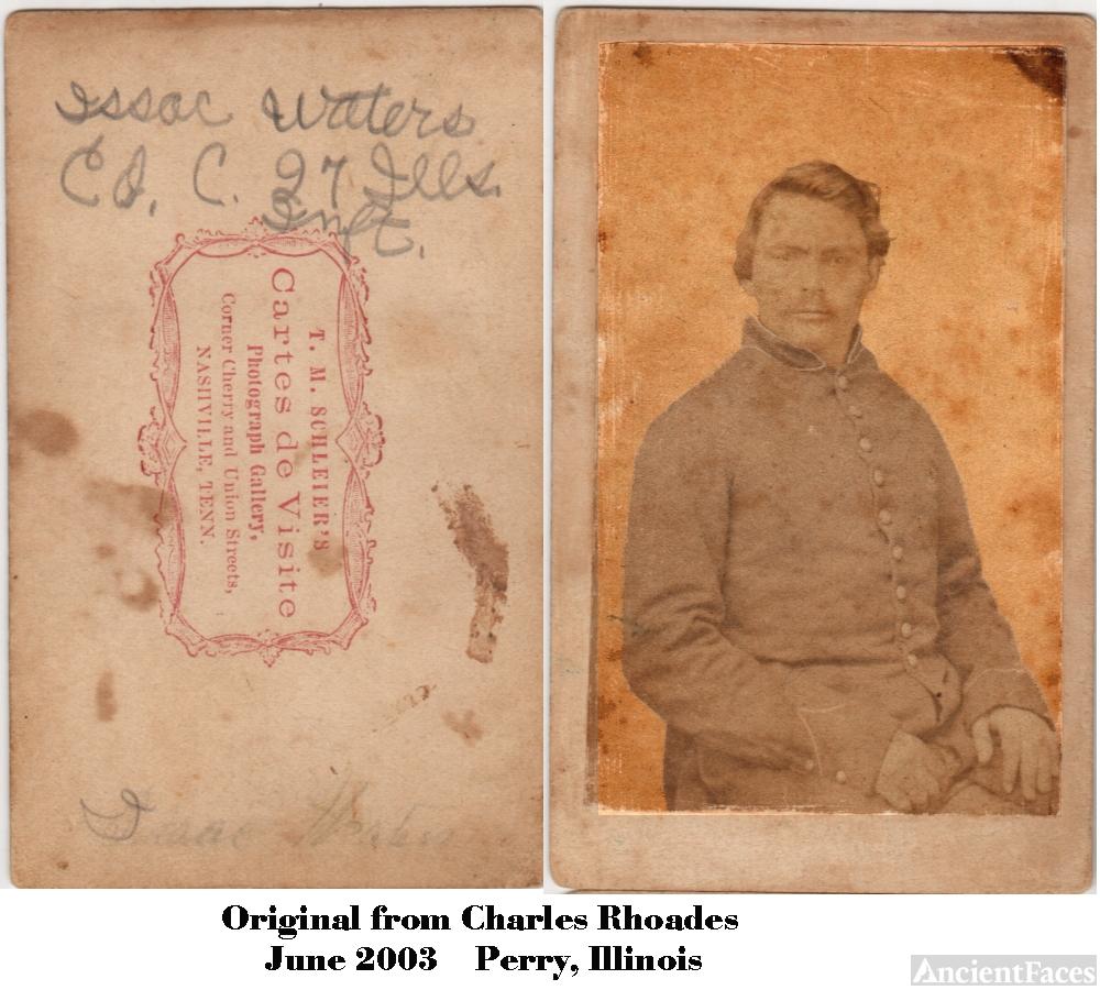 Isaac H. Waters Cartes de Visite