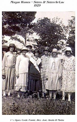 Nathaniel & Catherine Morgan's daughters, TN