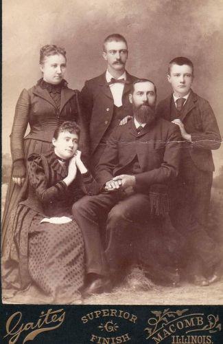 James Hardin and Family