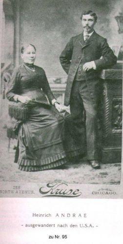 Heinrich & Mary (Leifeld) Andres