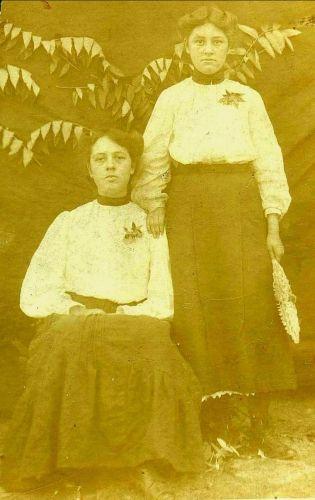 A photo of Clara Harriet Goats