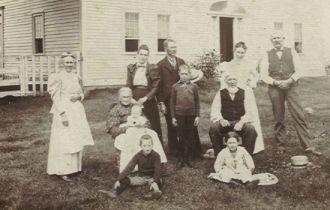 Thomas Abbott Merrill family