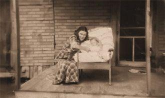 My mom Marie Gladys (shexnayder) and me  Linda Marie