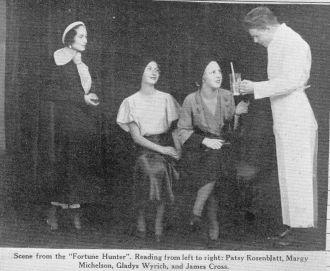 James Cross and Galileo High School Play, 1932
