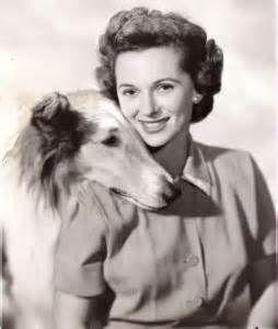 Jan Clayton and Lassie