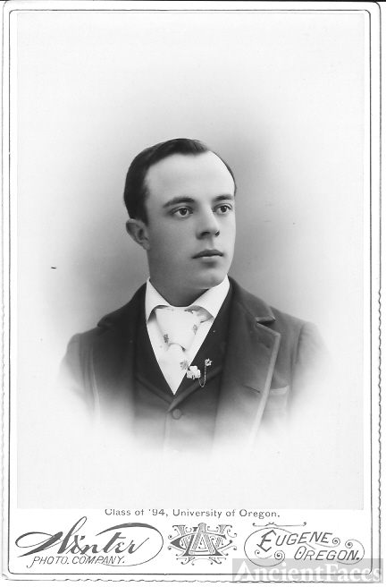 Unknown Man Class of 1894 University of OR