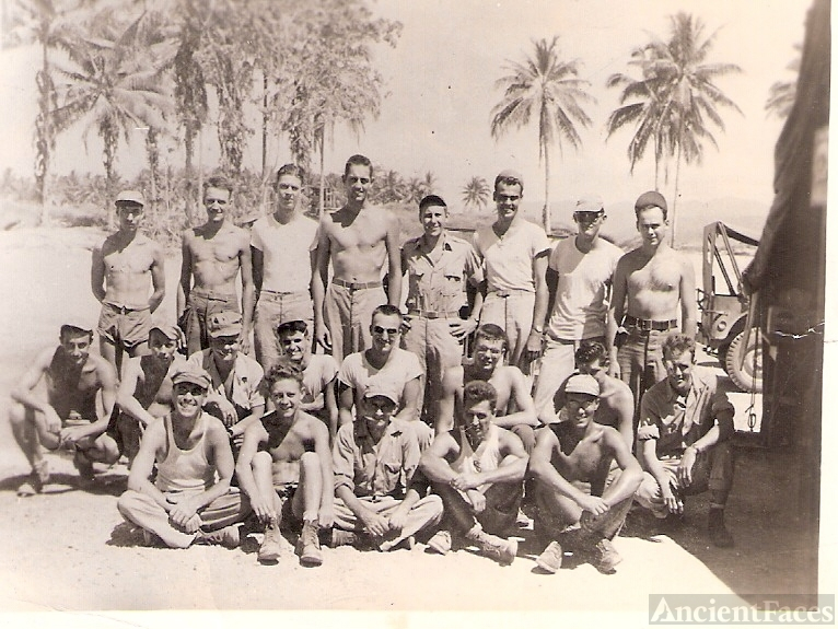 Howard J. Ruge, WWII Crew, New Guinea