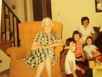 Lillie Woeller & family