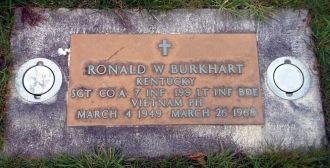Ronald Wayne Burkhart gravesite