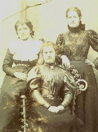Mary, Anna, & Elizabeth Mahon, 1897