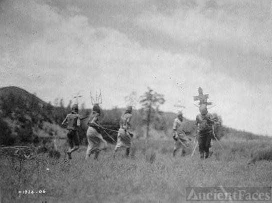 Apache dancers