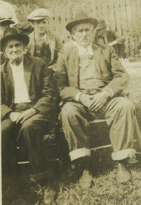 Amos and Erwin Hensley