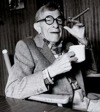 George Burns 1986