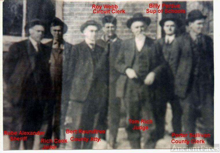 Politicians of Edmonson Co. KY