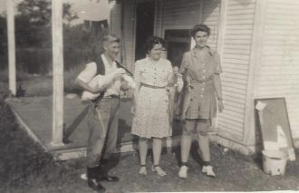 Girl Scout Camp 1943